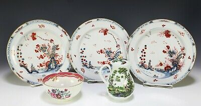 Great Lot of 18th Century English Soft Paste Porcelain Chinese Export