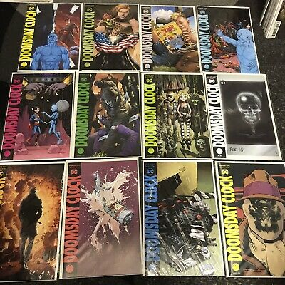 DOOMSDAY CLOCK #1-12 SET JOHNS/FRANK..DC 2019 1ST PRINT Variant Covers Watchmen