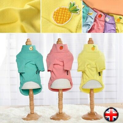 Small&Large Pet Dog Clothes Shirt Coat Jacket Hoodie Spring Warm Sweater Apparel