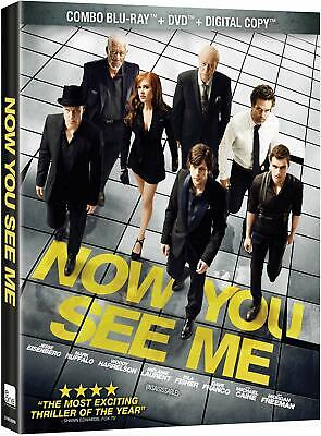 Now You See Me (Blu-ray/DVD, 2013 Bilingual) Brand New Free Shipping In Canada