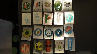 1976 Topps Autos of 1977 Stickers card cars COMPLETE SET