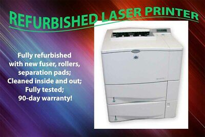 HP LASERJET 4100DTN C8052A PRINTER REMANUFACTURED REFURBISHED 120 DAY WARRANTY