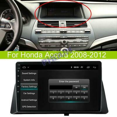 "10.1"" Android 9.1 Stereo Radio GPS Navigation Wifi 2+32GB For Honda Accord 08-12"