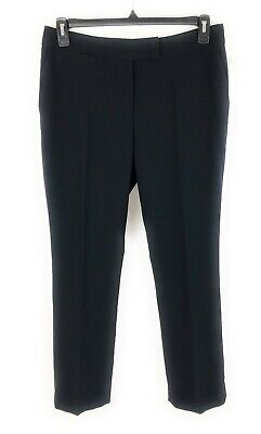 Tahari ASL Womens Petite Dress Pant Navy 10P