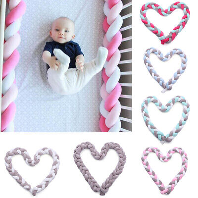 baby nests Head guard Knot cushion Bed hose Color Baby cot ZB