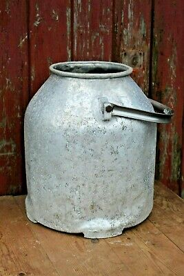 Vintage Large Aluminium Milk Churn Shabby Chic With or Without Lid