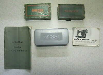 Sewing Machine Accessories and Manuals