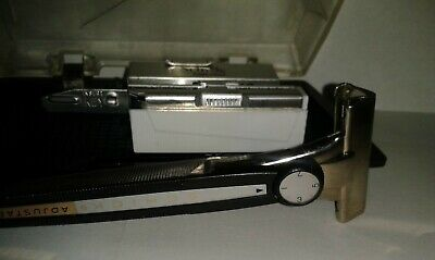 Rare Collectable Schick Adjustable Injector Razor With Case & 20 Personna Blades