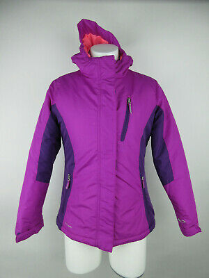 C9 by Champion Girls sz L Fleece Lined Venture-Dry Insulated Purple Parka Jacket
