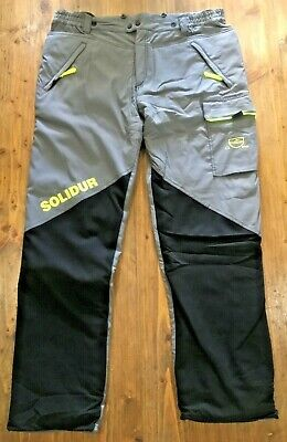 SIP Hi-Viz Yellow Type A Protective CHAINSAW Trousers 1SP9