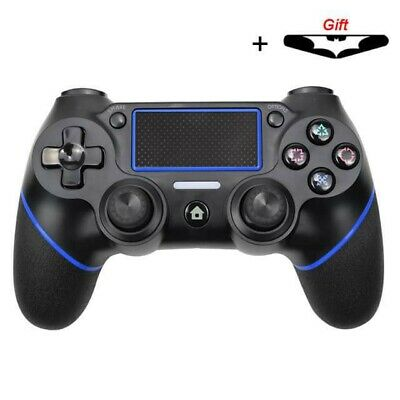 Wireless Bluetooth Gamepad Controller for PS4 PlayStation 4 Consoles Black