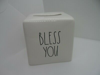 Rae Dunn Bless You By Magenta Tissue Kleenex Cover-New
