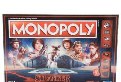 Monopoly Stranger Things Special Edition Hasbro Board Games Netflix New Sealed