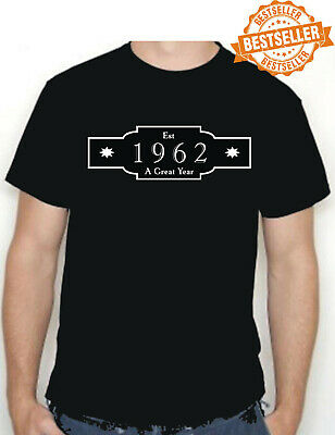 60th BIRTHDAY T-shirt / Est 1960 / Anniversary / Xmas / Party / Gift / All Sizes