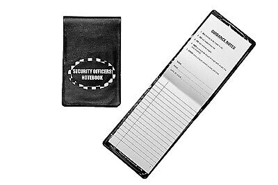 Security Notebook PAD Notes Information