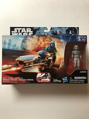 STAR WARS IMPERIAL SPEEDER BIKE /& AT-DP PILOT HASBRO NEW FACTORY SEALED IN BOX