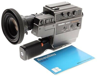 BEAULIEU 6008 S film movie camera Schneider Optivaron 1.4/6-70mm zoom lens as is