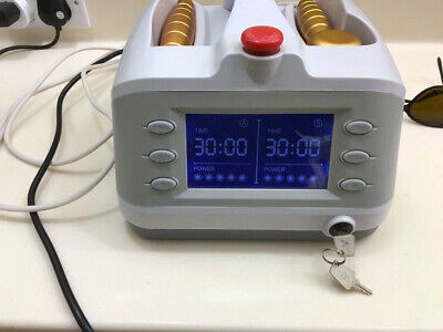 HNC Dual Probe COLD LASER Machine 750w Machine Pain Relief Physiotherapy