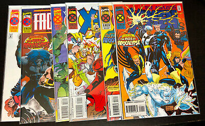 X-MEN AGE OF APOCALYPSE (1995) -- 10 Full Mini Series + One Shots -- 39 Total