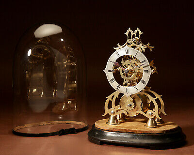 A Decorative English Skeleton Clock Circa 1850-1870
