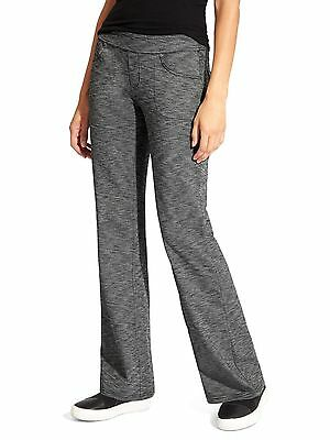 NWT Athleta Bettona Classic Pant, Black Heather SIZE ST S T       #819227 N1224