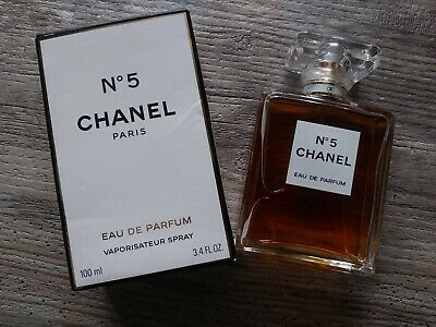 CHANEL No 5 EAU DE PARFUM 3.4oz / 100ml WOMENS PERFUME SPRAY NEW & AUTHENTIC