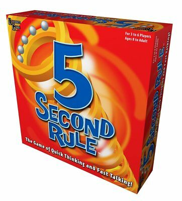 University Games 5 Second Rule the Game of Quick Thinking and Fast Talking