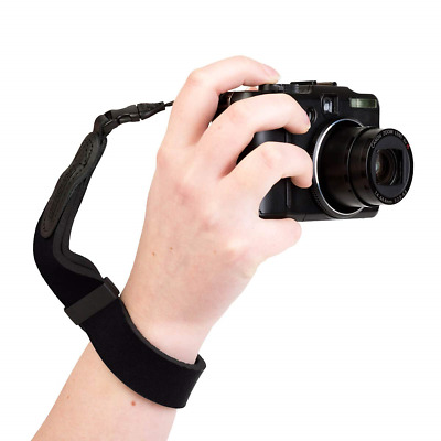 Optech 8201 Mirrorless Wrist Strap for Camera - Black