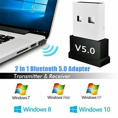 Hot Mini USB Bluetooth V5.0 CSR Wireless Dongle Adapter For Win7 8 10 PC Laptop