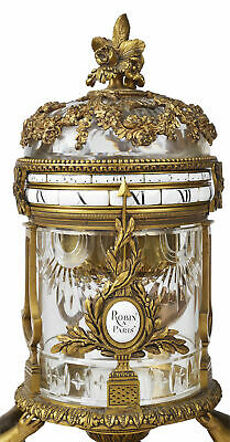Important Rare Mantel Clock, 19th Century Signed By Robin Paris c. 1880 France