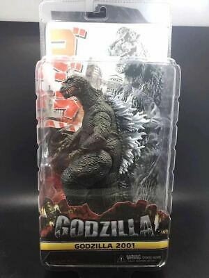 "NECA Godzilla 2001 Movie Classic 7"" Action Figure 12"" Head To Tail Toy New"