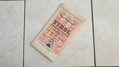 Card Relief for Tourist« Tirol » in Very Good Condition