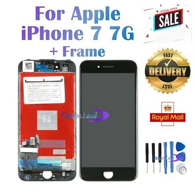 Replacement For iPhone 7 7G LCD Display Touch Screen Digitizer Black Frame UK