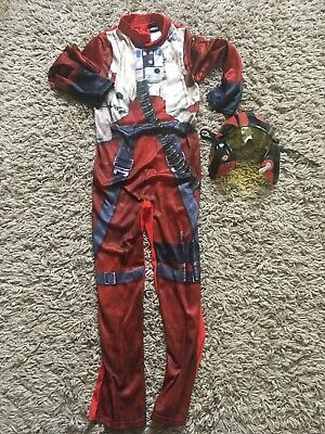 Star Wars X Wing Fighter 7-8 Years Dressing Up Outfit Costume  Fancy Dress