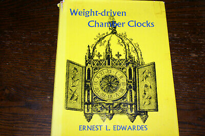 Weight-Driven Chamber Clocks By Ernest L Edwardes