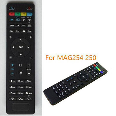 Replacement TV Remote Control for Mag250 254 256 260 261 270 IPTV TV Box BlacG1