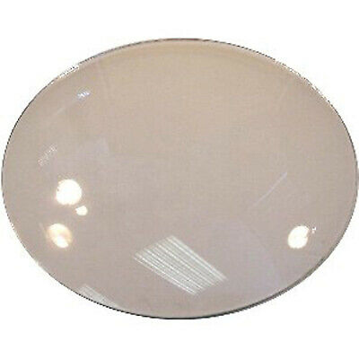 ROUND GLASS ROUGH-EDGE CONVEX 2 4/16inch