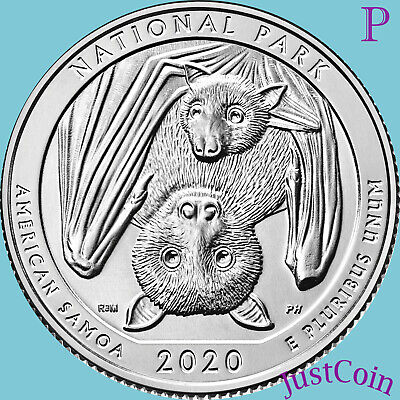 2020-P National Park Of American Samoa Quarter Uncirculated
