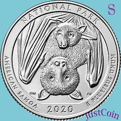 2020-S National Park Of American Samoa Uncirculated Quarter