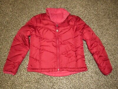Timberland Womens Mt Moriah Classic Down Coat Red Padded Jacket 8546J 876 P1