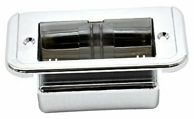 Hana Ashtray Trim Holder for 359 379 Peterbilt 1977-2005 Chrome Plastic #4498