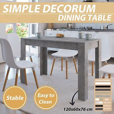vidaXL Dining Table Chipboard Dinner Room Table Home Collection Multi Colours