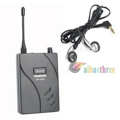 Takstar UHF-938R Professional PLL 50m Wireless Tour Guide System Receiver【AU】