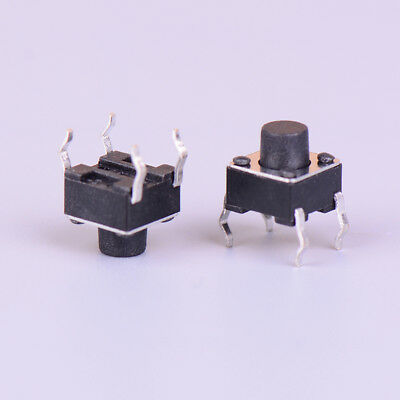 50pcs Micro switch 6*6*6mm 4pin momentary tactile push button switch UQ