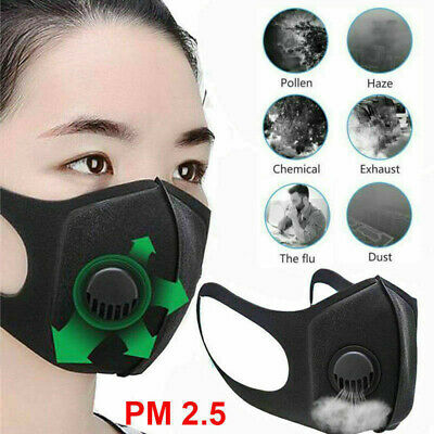 Unisex Face Mask Cover Air Purifying Anti Dust Multi Layer Filter Masks Supply