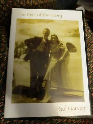 DVD: Paul Harvey - The Rest of the Story - Radio Broadcast History