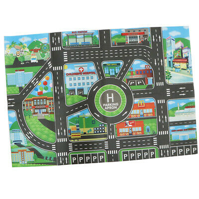 City Traffic Road Play Mat Car Track Game Toy - Baby Carpet Rug Developmetal Toy