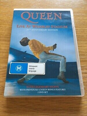 QUEEN-Live At Wembley Stadium 2 DVD 25th Anniversary Edition
