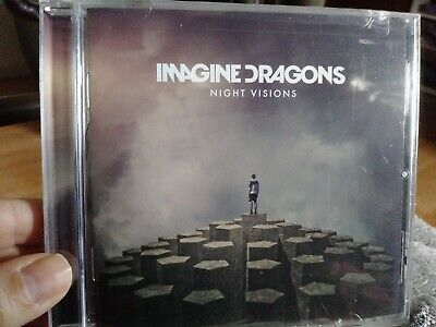Imagine Dragons--Night Visions (CD 2012, Interscope)*BRAND NEW FACTORY SEALED*