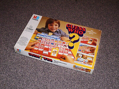 GUESS WHO ? - RARE 1979 VINTAGE EDITION - By MB GAMES (FREE UK P&P)